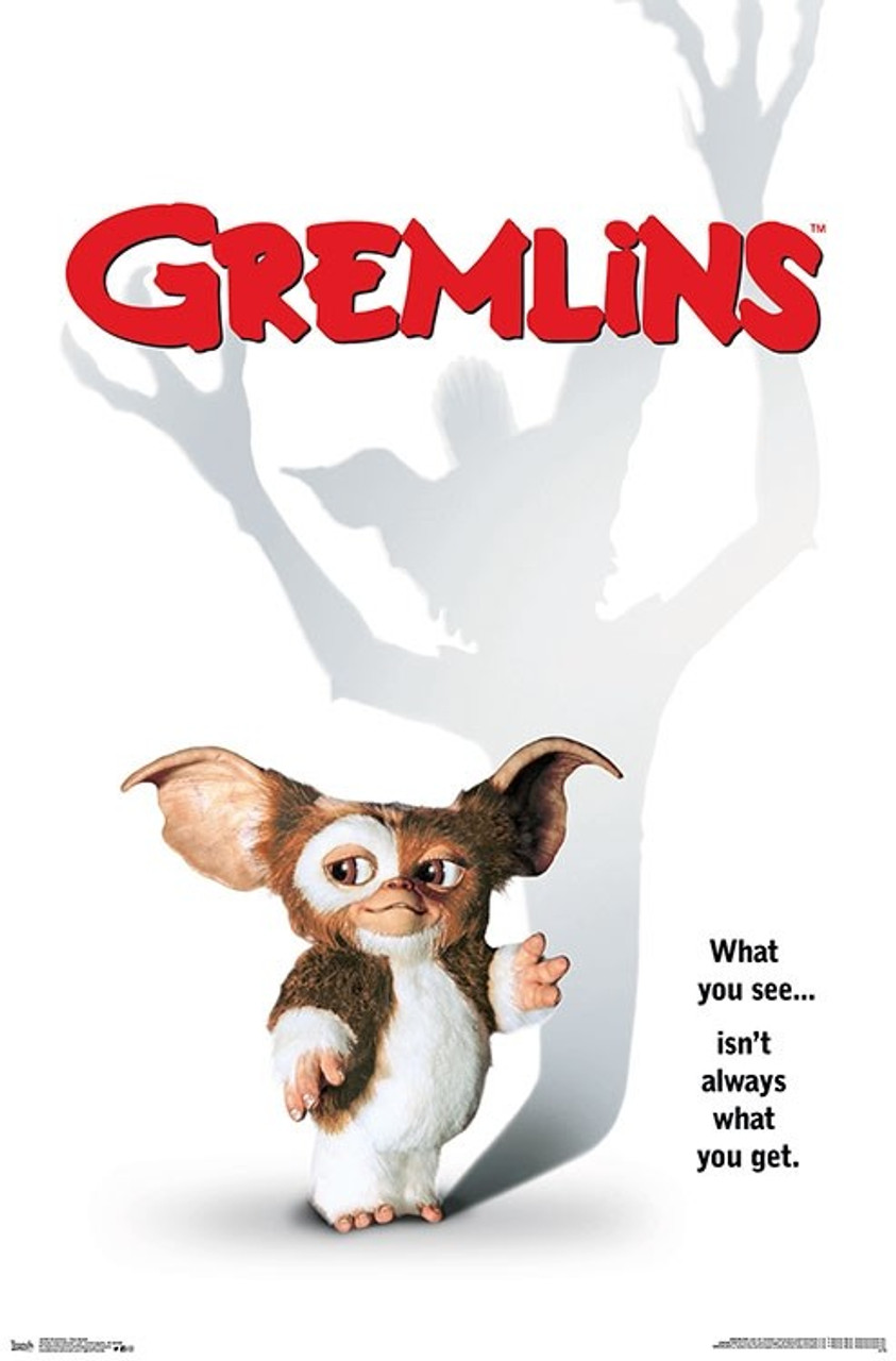 Gremlins Joe Dante Movie Poster Reproduction Canvas Picture Art Print Premium