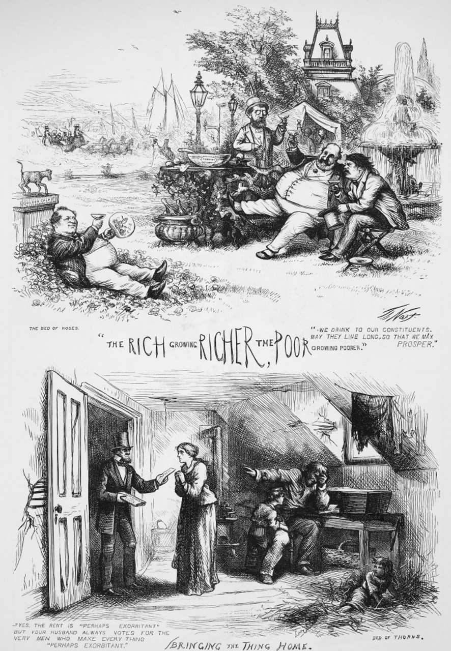 Nast Tweed Ring Cartoon N The Tammany Lords And Their Constituents One Of Thomas Nast S Vitriolic Attacks On William M Boss Tweed And The
