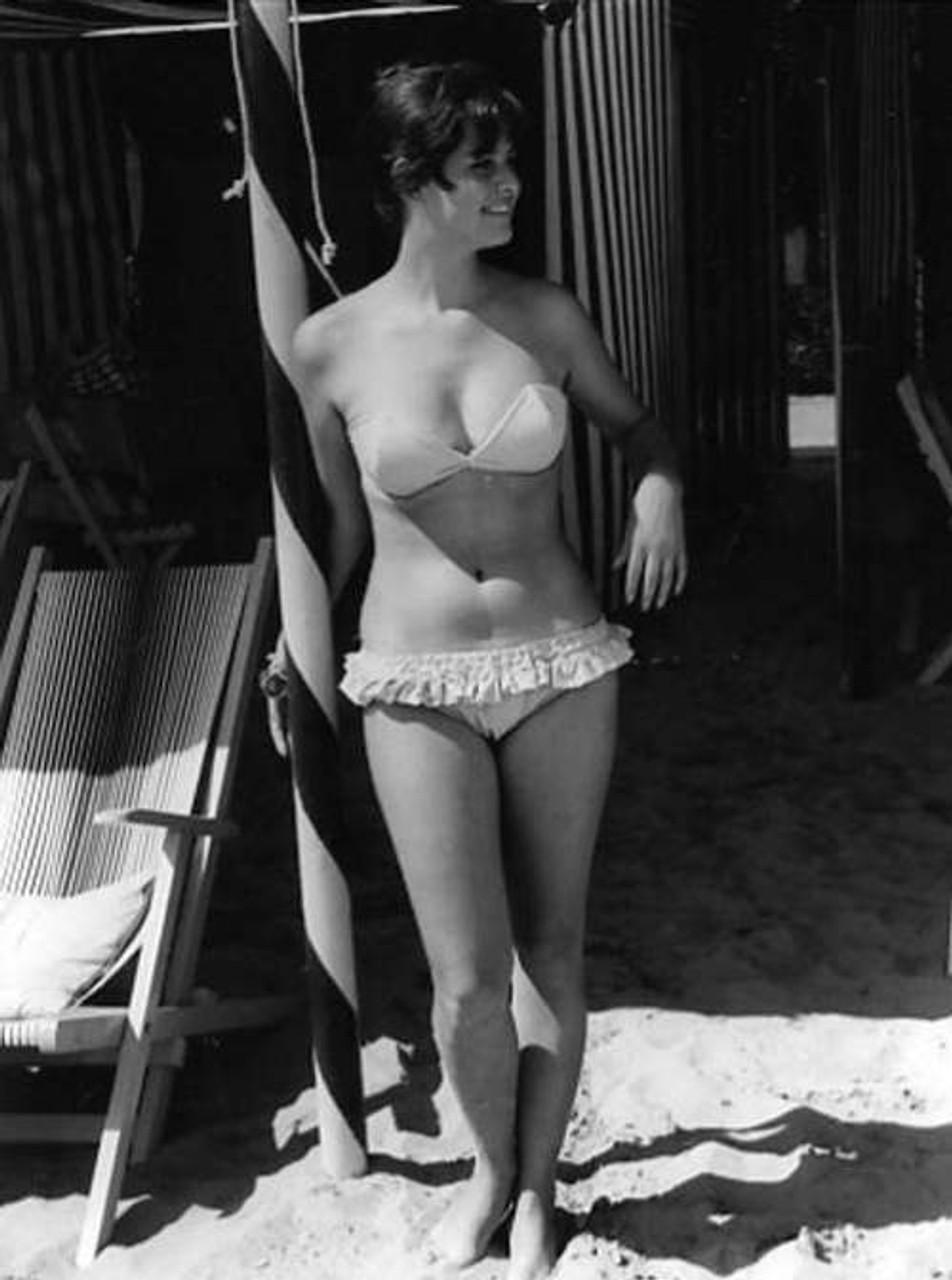 Claudia Cardinale - Ruffle Bikini Photo Print (8 x 10) - Item # DAP15242 -  Posterazzi