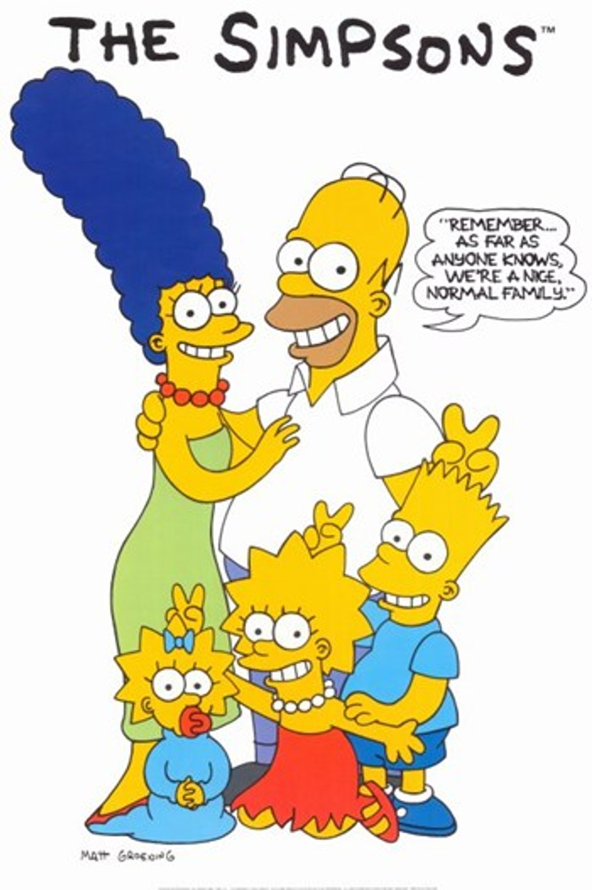 The Simpsons Movie Poster 11 X 17 Item Movgh5909 Posterazzi