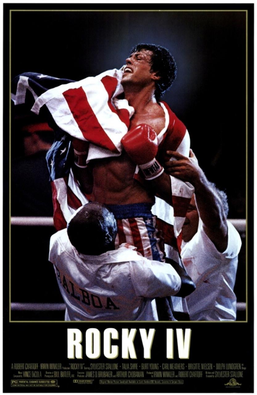 Rocky 4 Movie Poster Print 27 X 40 Item Movef2207
