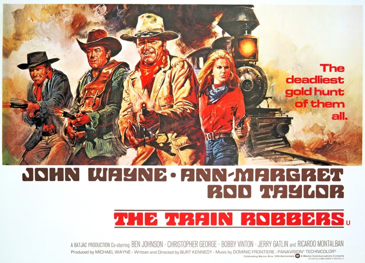 The Train Robbers Rod Taylor Ben Johnson John Wayne Ann-Margret ...
