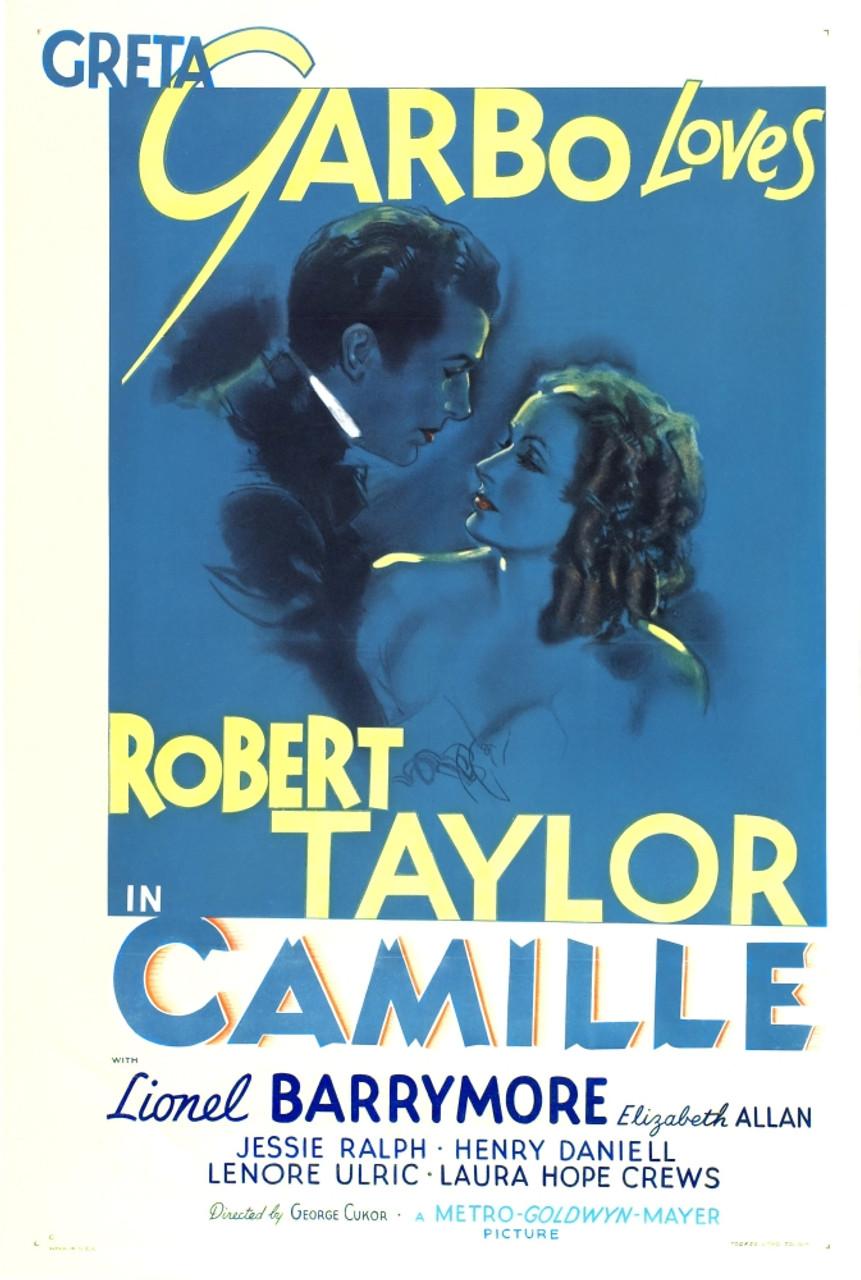 Camille From Left: Robert Taylor Greta Garbo 1936 Movie Poster Masterprint  - Item # VAREVCMCDCAMIEC007H - Posterazzi