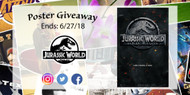 Jurassic World Poster Giveaway