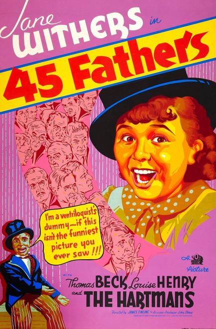 45 Fathers Fine Art Print - Item # VAREVCMCDFOFIFE001