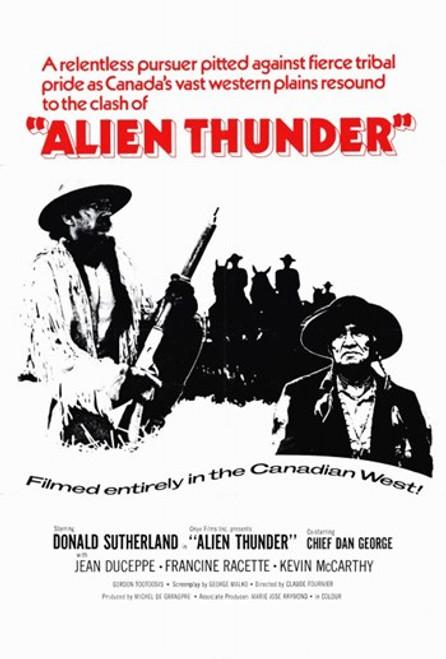 Alien Thunder Movie Poster (11 x 17) - Item # MOV259986