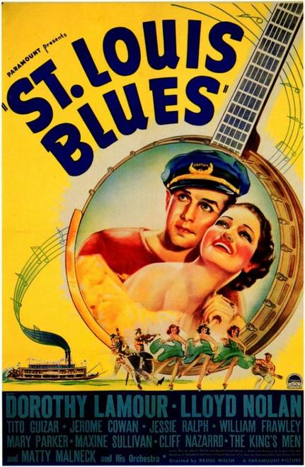 St. Louis Blues Movie Poster Print (27 x 40) - Item # MOVIF2346