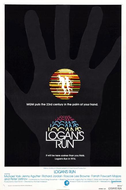 Logan'S Run Us Poster 1976 Movie Poster Masterprint - Item # VAREVCMCDLORUEC016H