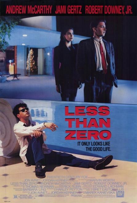 Less Than Zero Movie Poster Print (27 x 40) - Item # MOVGF4377