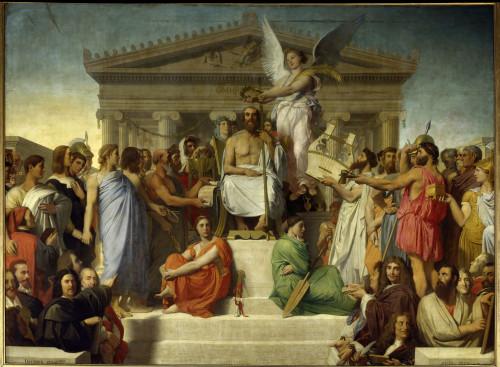 1755  Jean-Auguste-Dominique Ingres French School Poster Print - Item # VAREVCCRLA001YF804H