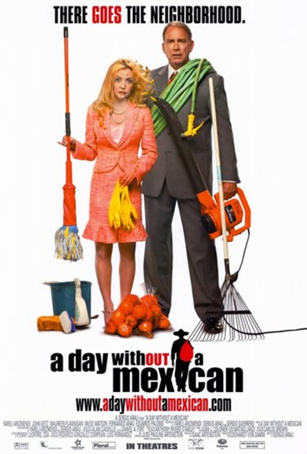 A Day Without a Mexican Movie Poster (11 x 17) - Item # MOV228609