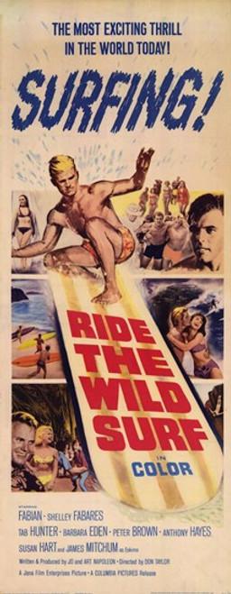 Ride The Wild Surf Movie Poster (11 x 17) - Item # MOV250041