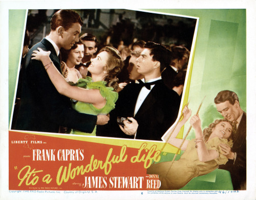 It'S A Wonderful Life Top From Left: James Stewart Donna ...