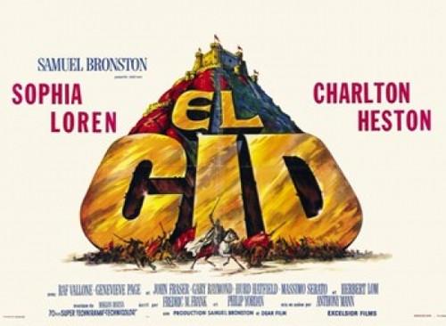 El Cid Movie Poster (17 x 11) - Item # MOV235841