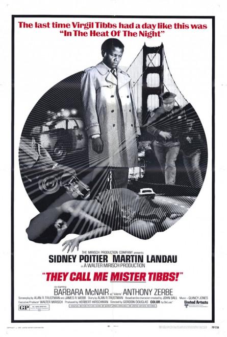 They Call Me Mister Tibbs Movie Poster Print (27 x 40) - Item # MOVIH2316