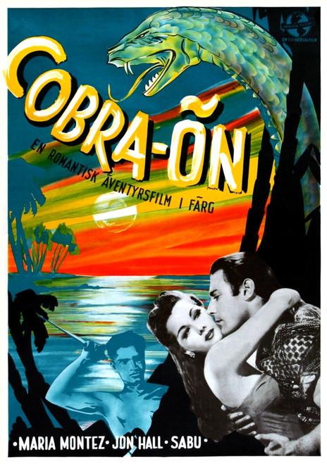Cobra Woman Sabu Maria Montez Jon Hall 1944. Movie Poster Masterprint - Item # VAREVCMCDCOWOEC012H