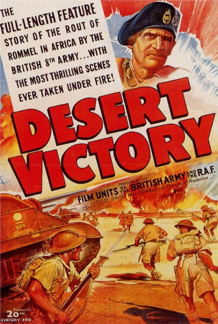 Desert Victory Movie Poster Print (27 x 40) - Item # MOVIF9331