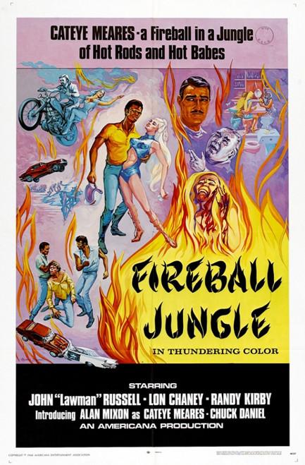 Fireball Jungle Movie Poster Print (27 x 40) - Item # MOVGI5543