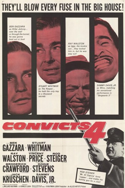 Convicts Four Movie Poster (11 x 17) - Item # MOV254352