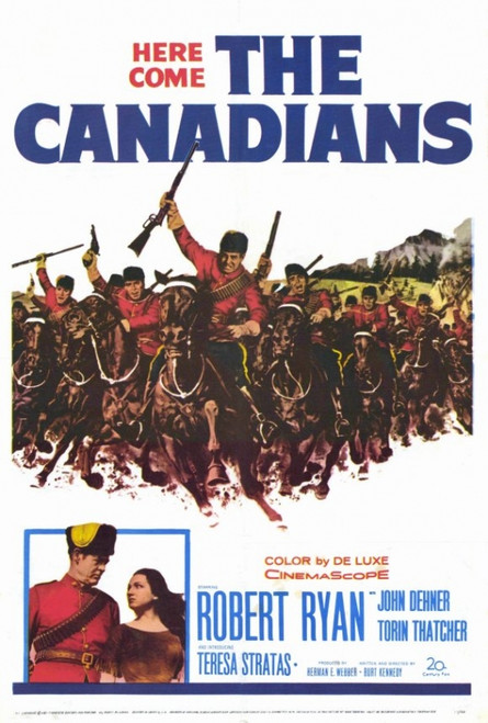 Canadians Movie Poster Print (27 x 40) - Item # MOVAH0107