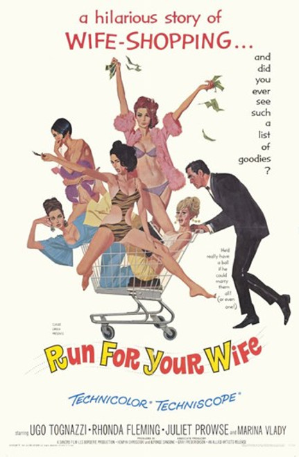 Run for Your Wife Movie Poster (11 x 17) - Item # MOV254977