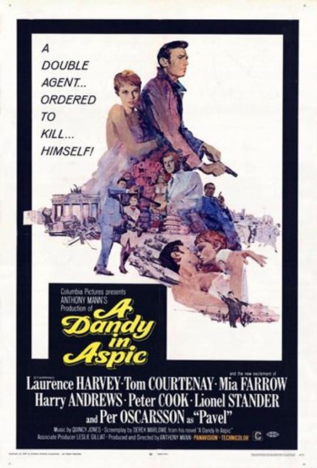 Dandy in Aspic Movie Poster (11 x 17) - Item # MOV260400