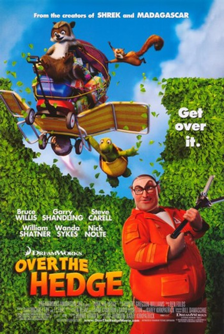 Over the Hedge Movie Poster (11 x 17) - Item # MOV365193