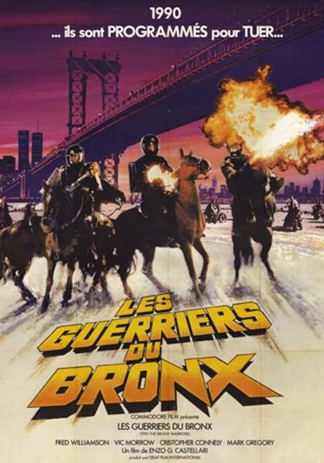 1990 the Bronx Warriors Movie Poster (11 x 17) - Item # MOV250264