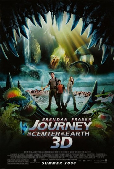 Journey to the Center of the Earth Movie Poster (11 x 17) - Item # MOV406345
