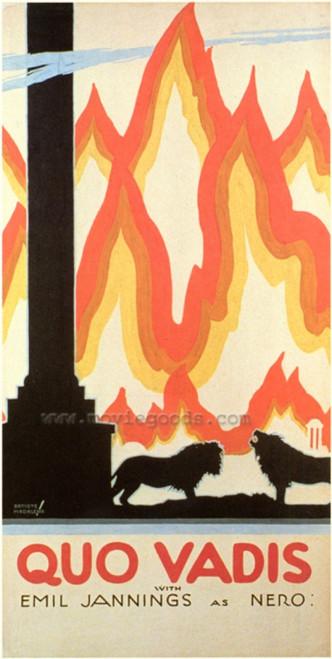 Quo Vadis Movie Poster Print (27 x 40) - Item # MOVGF1292