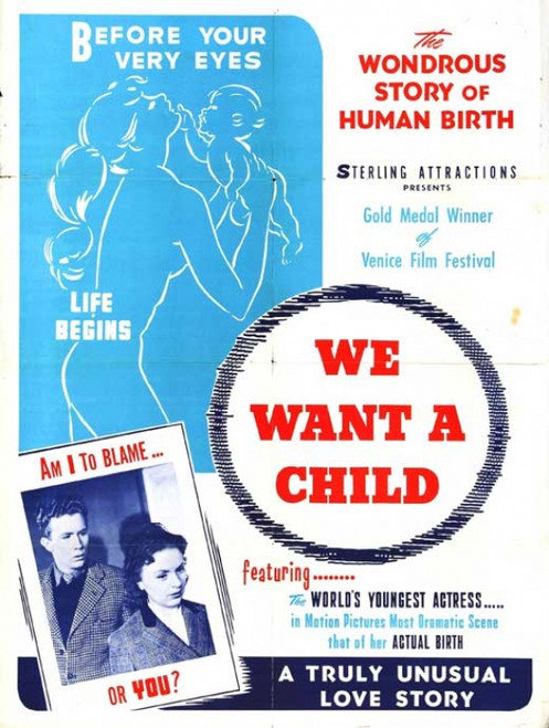 We Want a Child Movie Poster Print (27 x 40) - Item # MOVIB01243
