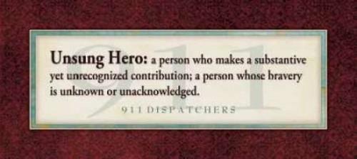 911 Unsung Hero Poster Print by Stephanie Marrott - Item # VARPDXSM8374
