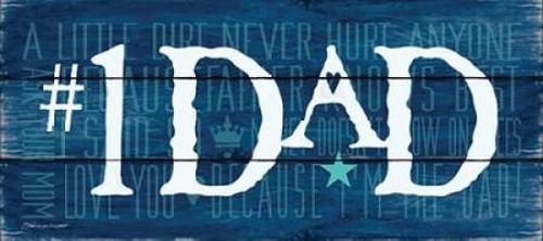 #1 Dad I Poster Print by Stephanie Marrott - Item # VARPDXSM157111