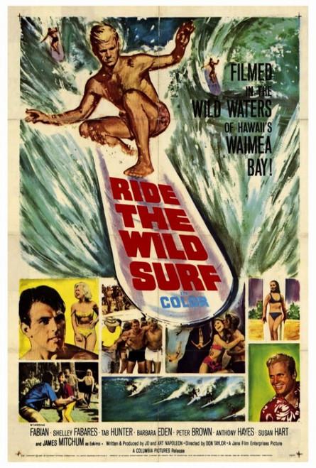 Ride the Wild Surf Movie Poster Print (27 x 40) - Item # MOVGF4414