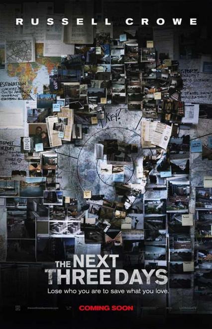 The Next Three Days Movie Poster Print (27 x 40) - Item # MOVCB34211