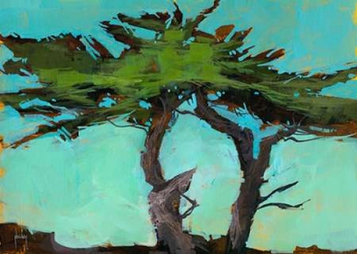 Cypresses Poster Print by Paul Bailey - Item # VARPDXB2767D
