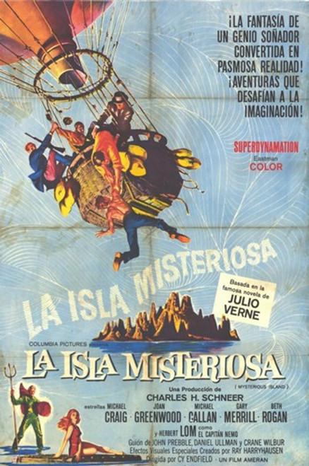 Mysterious Island Movie Poster (11 x 17) - Item # MOV227665