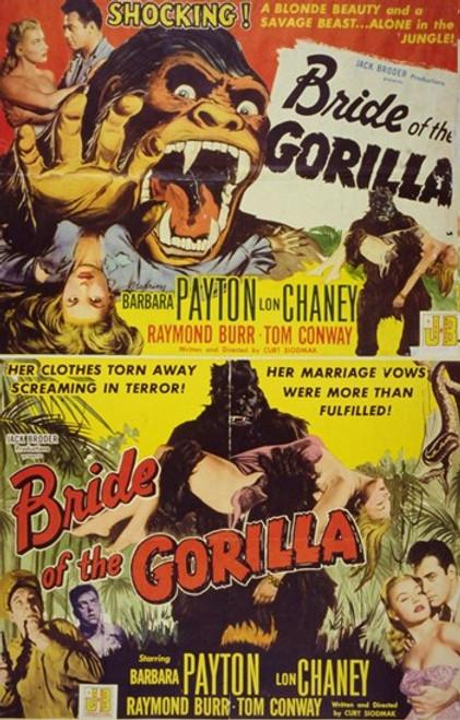 Bride of the Gorilla Movie Poster (11 x 17) - Item # MOV251391