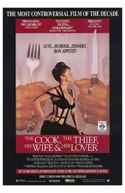 Cook the Thief His Wife and Her Lover Movie Poster (11 x 17) - Item # MOV206192