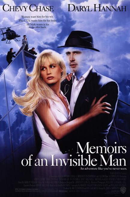 Memoirs of an Invisible Man Movie Poster (11 x 17) - Item # MOV233339