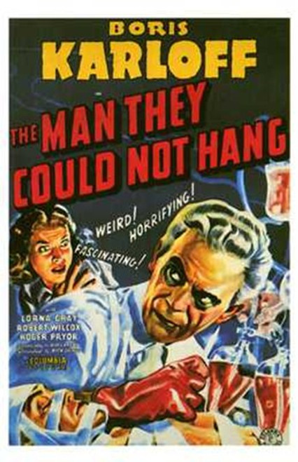 The Man They Could Not Hang Movie Poster (11 x 17) - Item # MOV199100