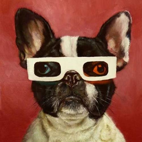 3D Dog Poster Print by Lucia Heffernan - Item # VARPDXH1177D