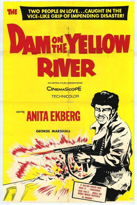 Dam on Yellow River Movie Poster Print (27 x 40) - Item # MOVAH2712