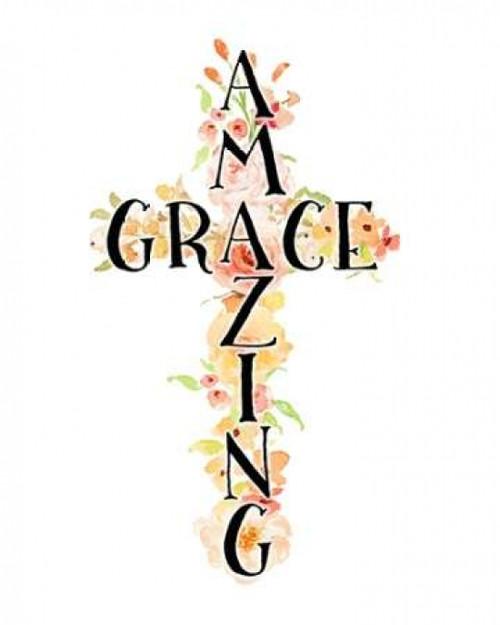 Amazing Grace Floral Poster Print by Tara Moss - Item # VARPDXTA1316