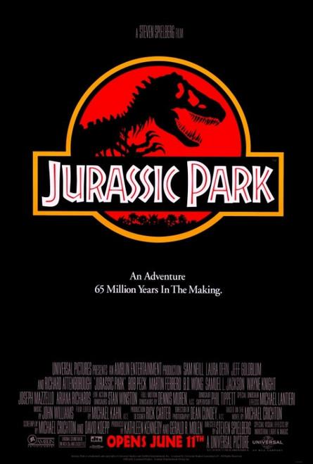 Jurassic Park Movie Poster Print (27 x 40) - Item # MOVIF9162