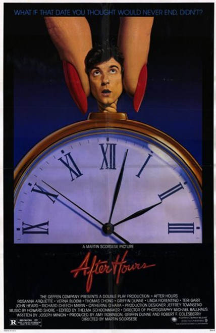 After Hours Movie Poster (11 x 17) - Item # MOV193532