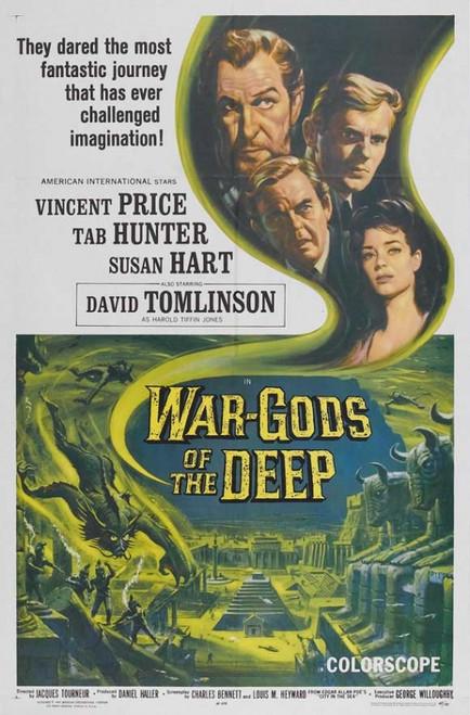 War Gods of the Deep Movie Poster Print (27 x 40) - Item # MOVEB02410
