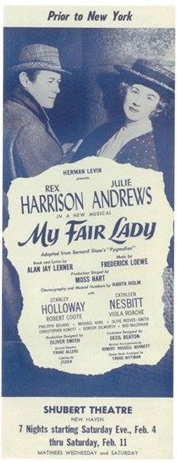 My Fair Lady (Broadway) Movie Poster (11 x 17) - Item # MOV407361