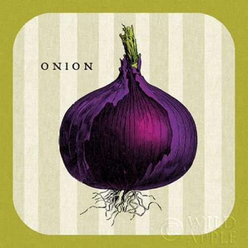 Linen Vegetable III Poster Print by Mousseau Studio - Item # VARPDX25415