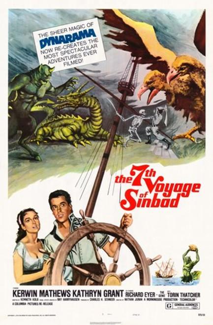 The 7th Voyage of Sinbad Movie Poster (11 x 17) - Item # MOV388726